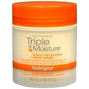 Neutrogena triple moisture deep recovery hair mask, 6 oz