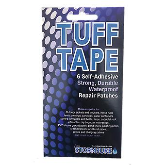 TUFF Tape Assorted Self Adhesive Patch Set 6-Pack, waterproof and airtight