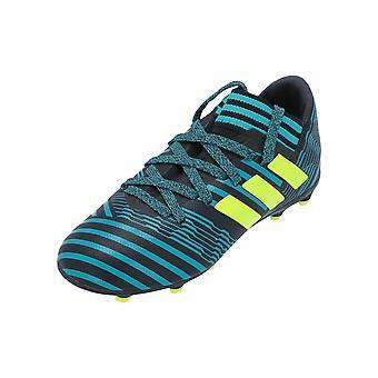 Adidas performance NEMEZIZ 17,3 FG J Kids voetbalschoenen blauw sportschoenen