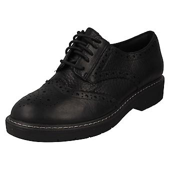 Ladies Clarks Chunky Sole Brogues Witcombe Echo