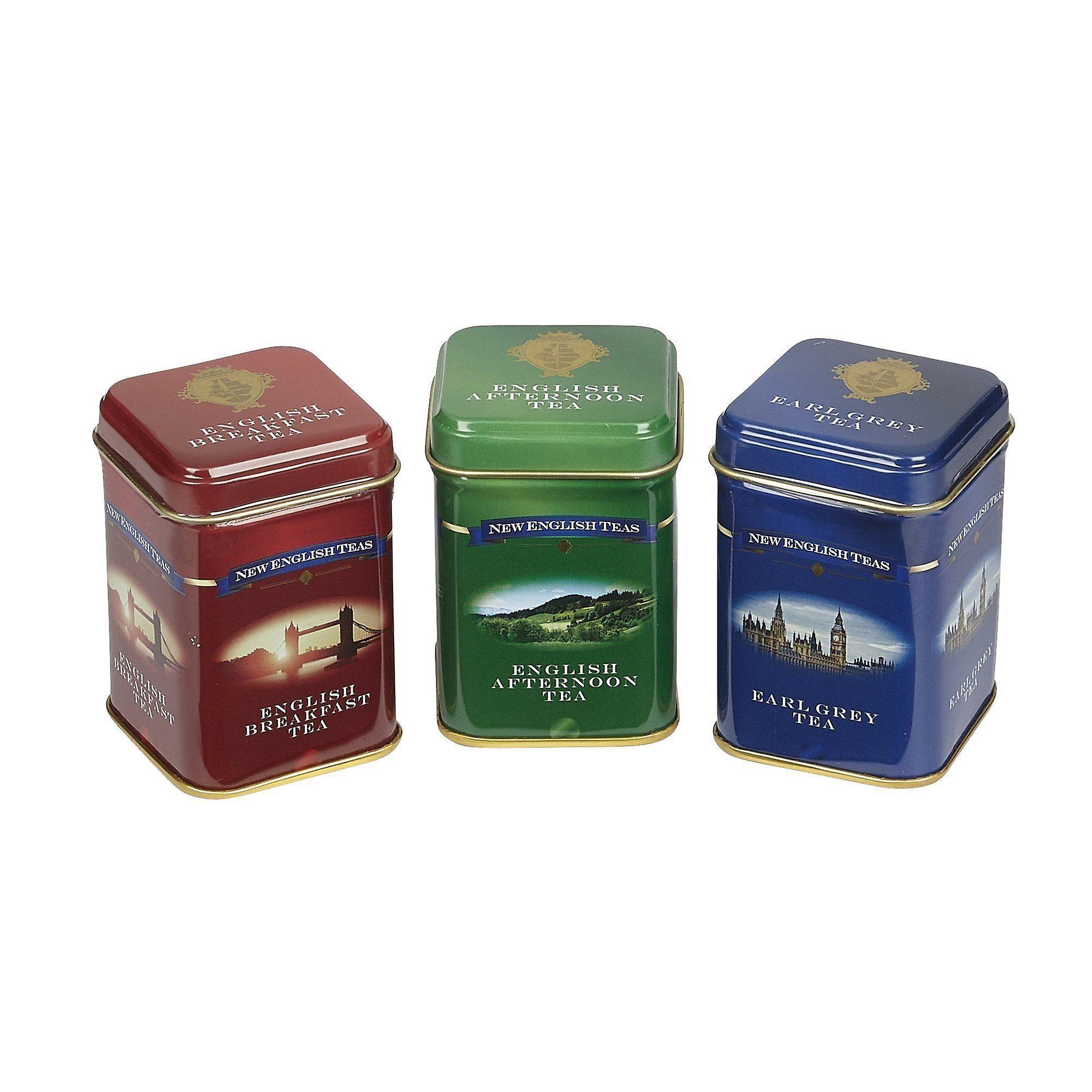 English classic tea selection mini tin gift pack