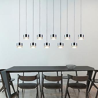 JUPITER 10 mini hanger verlichting chroom-LED opknoping lichtpunt