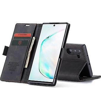 Retro Wallet Slim for Samsung Note 10 Black