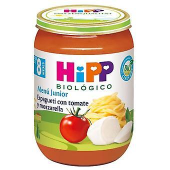 Hipp Potitos Spaghetti with Tomato and Mozarella 190 gr
