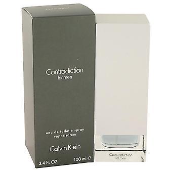 Contradiction eau de toilette spray by calvin klein 401979 100 ml