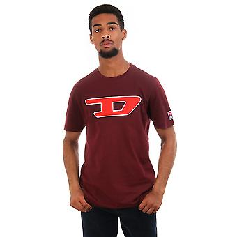 Diesel Just Division D Ss Cn T Shirt