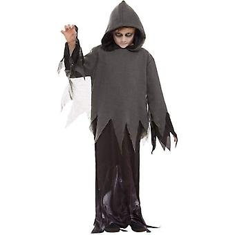 Ghost Ghoul kostuum kind zwart