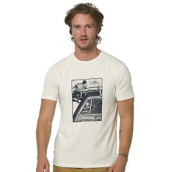 Animal Woody Short Sleeve T-Shirt in Antique Cream