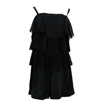 صالح 4 يو ملابس السباحة باندو V-الطبقات شبكة رومبر الأسود A273953