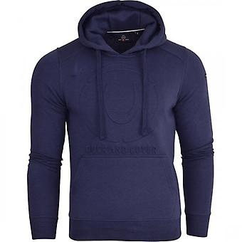 Duck and Cover Duck And Cover Mens Designer Casual Hooded Logo Top Hoody Fleece Sweatshirt Jacket