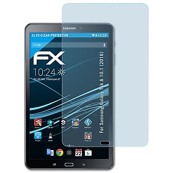 atFoliX Glass Protector compatible with Samsung Galaxy Tab A 10.1 (2016) 9H Hybrid-Glass
