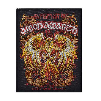 Amon Amarth Phoenix kudottu patch