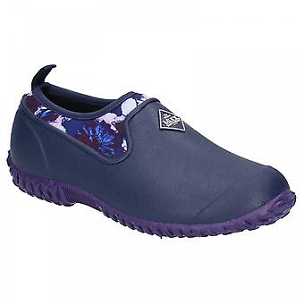 Muck Boots Ladies Blue Muckster Ii Slip On Neoprene Lined Shoes