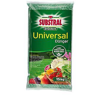 SubstraL® fertilizante universal de grãos verdes, 15 kg