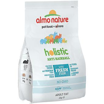 Almo nature Anti Functional Dry Antihairball Poissons et Pommes de Terre