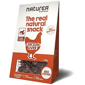 Naturea Snack para Perro de Higado de Pollo (Dogs , Treats , Natural Treats)