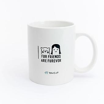 Paws Up Mug Fur Friends Are Furever (PetLovers)