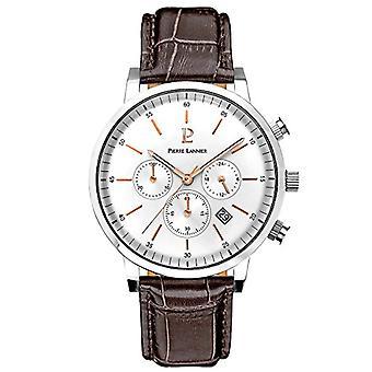 Pierre Lannier Analog quartz men's watch with leather 213C124