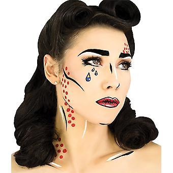 Zestaw do makijażu pop art
