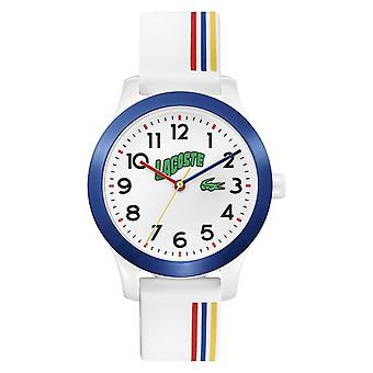 Lacoste 12.12 Kids | White Silicone Strap | White Dial 2030027 Watch