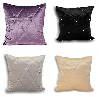 Riva Home Diamante Cushion Cover