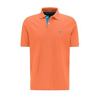Fynch-Hatton Fynch Hatton Polo Shirt Mandarin