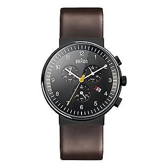 Braun Quartz montre homme avec bracelet en cuir BN0035BKBRG