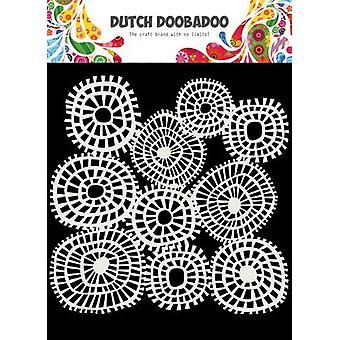 Dutch Doobadoo Dutch Mask Art 15x15cm Linnen circles 470.715.618