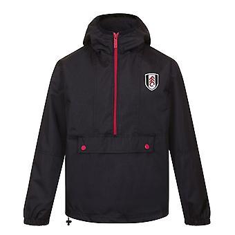Fulham FC Official Football Gift Mens Shower Jacket Windbreaker