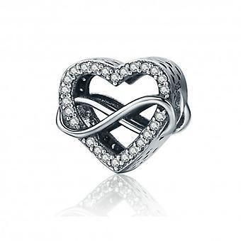 Sterling Sølv Charm Endeløs kærlighed - 5290