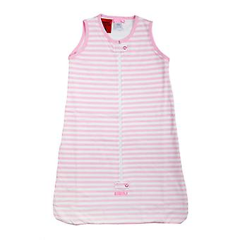 uh-oh! Baby Sleeveless Sleeping Bag 0.5 tog Warmth Rating Pink Stripe