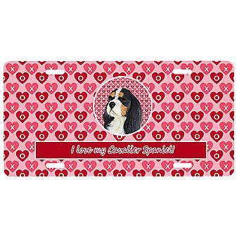Carolines Schätze LH9144LP Cavalier Spaniel Valentine's Liebe und Herzen Lizenz