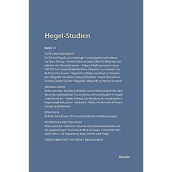 HegelStudien  HegelStudien by Pggeler & Otto