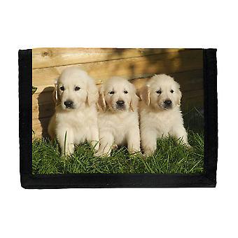 Golden Retriever Puppies Wallet