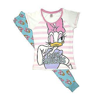 Donne 's Disney Daisy Duck I Look Favoloso Pigiama Set