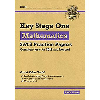 New KS1 Maths SATS Practice Papers - Pack 3 (for the 2020 tests) by CG