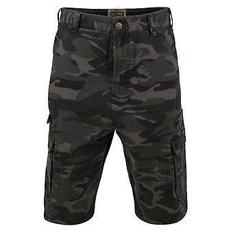 Kam Jeanswear Camouflage Cargo Shorts