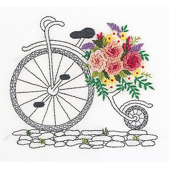 Panna Embroidery Stumpwork Kit - A Bouquet On Wheels