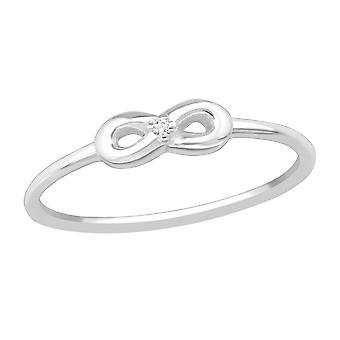 Infinity - 925 Sterling Silver inele cu bijuterii - W23811x