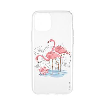 Funda para iPhone 11 Pro Max Soft Flamingo Rose