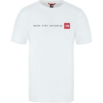 ノースフェイス Nse T92TX4LB1 ユニバーサルサマーメンズTシャツ