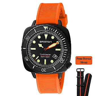 Briston Customized Clubmaster Diver Automatic Mens Watch 20644.PBAM. B.NR20. O
