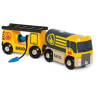 Brio Tanker Truck with Hose wagon
