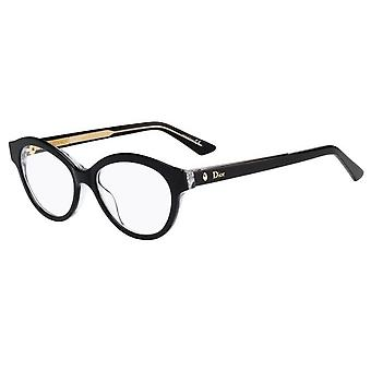 DIOR MONTAIGNE 36 G99 Black Crystal Glasses