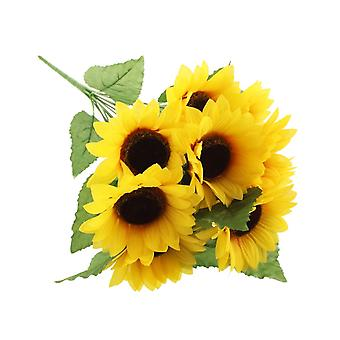 45cm 12 Stem Artificial Sunflower Spray for Florsitry Crafts