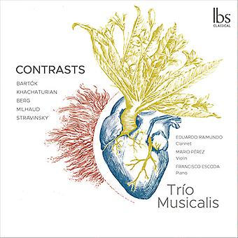 Contrasts [CD] USA import