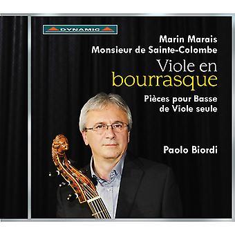 Marais / Sainte-Colombe / Biordi - Viole En Bourrasque [CD] USA import