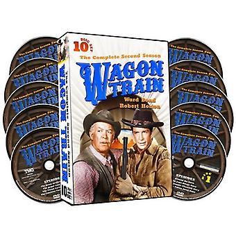 Wagon Train: Complete Second Season [DVD] USA import