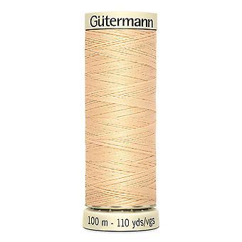 Gutermann Naai-alle 100% polyester draad 100m hand en machine kleurcode - 6