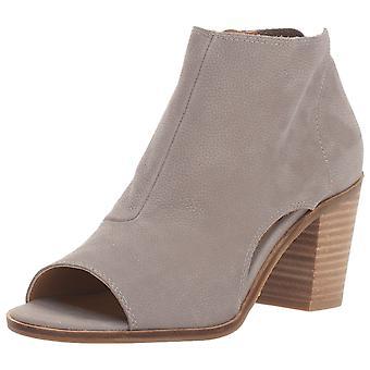Sorte das mulheres da marca Kashima couro aberto Toe Ankle Boots de moda